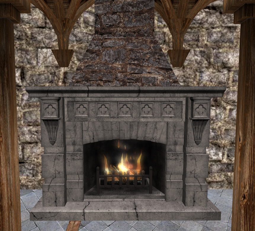 the gallery for minecraft fireplace