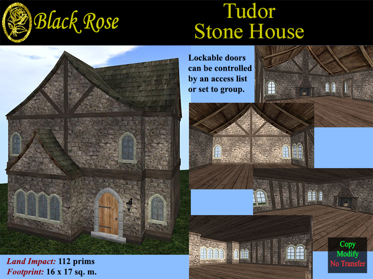 Black rose tudor stone house sluniverse forums for Black stone house